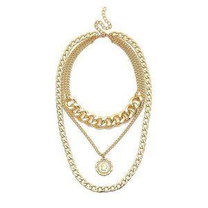 Alloy Fashion Geometric Necklace